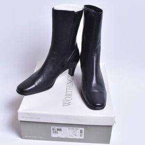 Worthington Black Boots, Sz 6.5